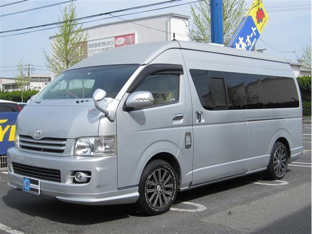トヨタ キャンピング 2段ベッド FFヒーター カトーモータース