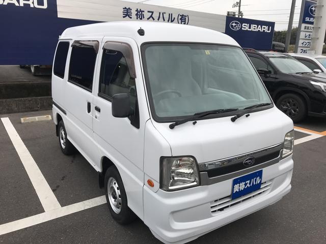 スバル VB 3AT エアコン パワステ付 軽自動車 ハコバン