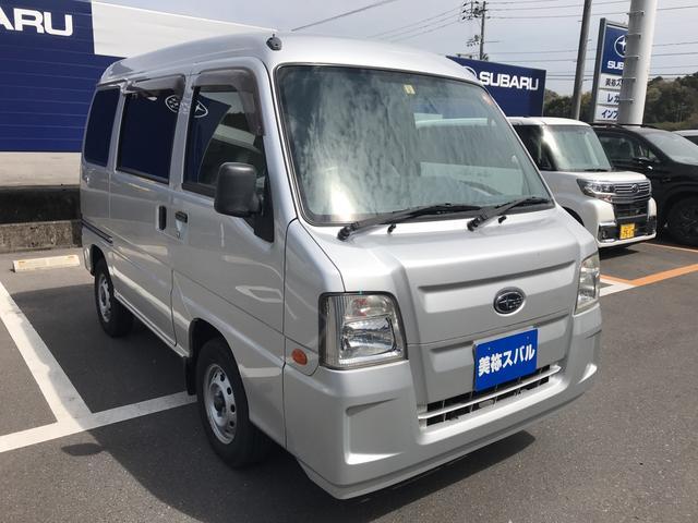 スバル VB 5MT エアコン パワステ付 取説 記録簿付