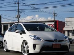 プリウスL新品車高調新品9型ナビ新品19インチ新品タイヤ新品ハンドル