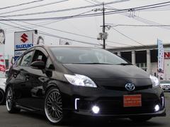 プリウスL新品車高調新品19AW新品ハンドル新品LEDライト・フォグ