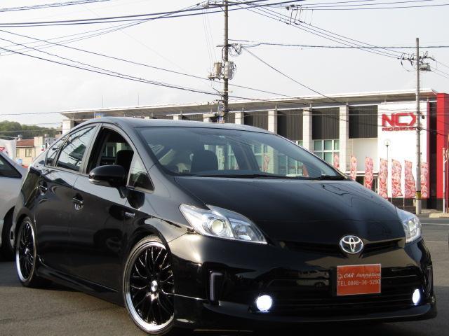 トヨタ S新品車高調新品エアロ新品19AW新品ハンドルLEDフォグ