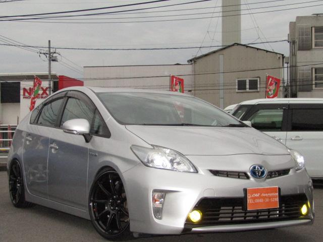 トヨタ F後期仕様 新品車高調新品19インチ新品LEDライト・フォグ