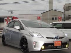 プリウスF後期仕様 新品車高調新品19インチ新品LEDライト・フォグ