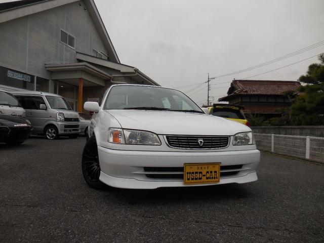 トヨタ カローラ GT 車高調 6速 MT XXR15AW 5バルブ4AG