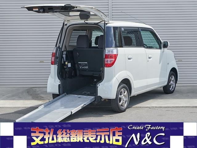 ホンダ ゼスト 車イス仕様車リアシート付 除菌シートクリーニング スローパー