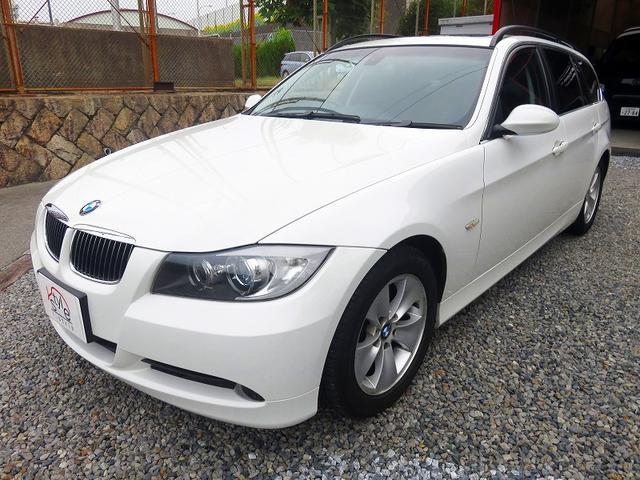 BMW 325iツーリング ハイラインパッケージ SR 本革 ナビ