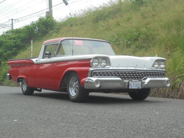 フォード 1959モデル ランチェロ V8 クレーガー14インチアルミ
