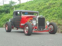 フォード1930モデル model A クーペ V8 5700cc