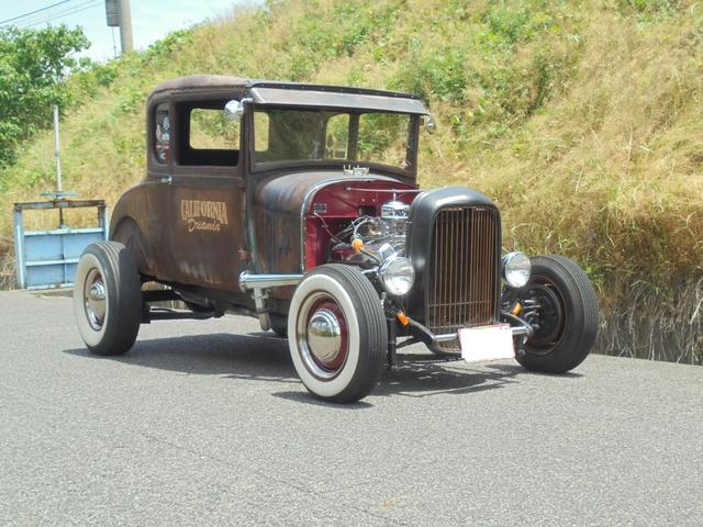 フォード 1927年 model A coupe Hotrod V8
