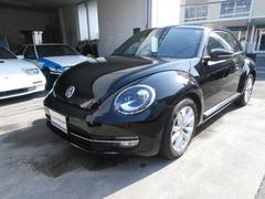 VW ザ・ビートルデザインレザーパッケージ SDナビフルセグ 黒革 サンルーフ