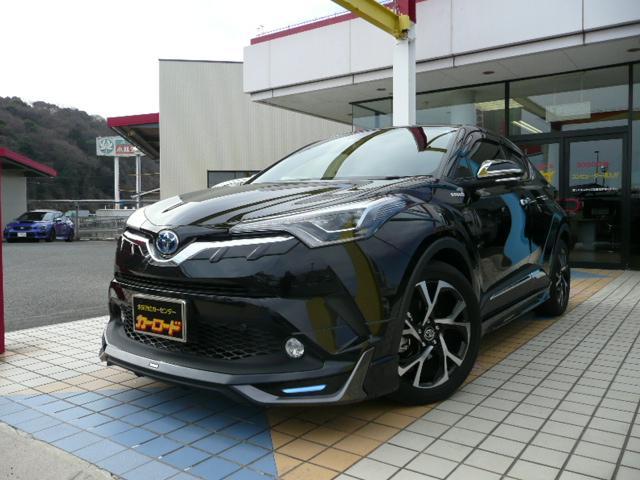 トヨタ G 純正9インチナビ モデリスタエアロ