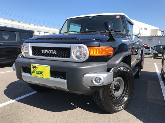 トヨタ  4WD TV ナビ バックカメラ オーディオ付 ETC 5名乗り クロカン クルコン