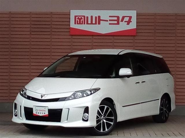 トヨタ アエラス プレミアムエディション スマートキ- HDDナビ