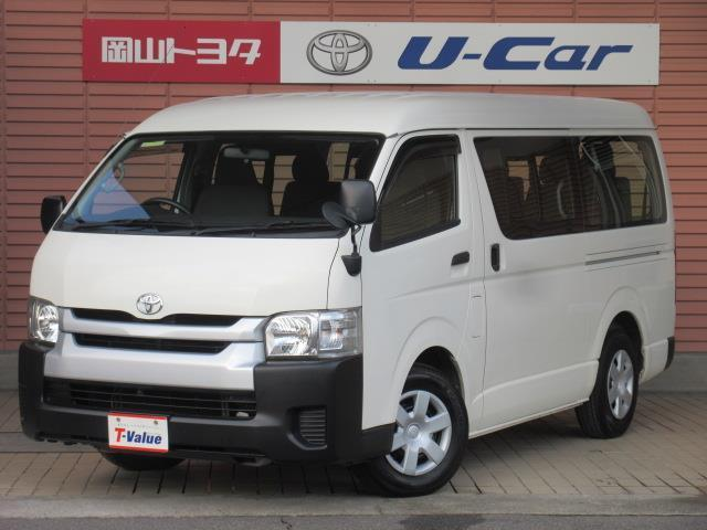 トヨタ DX 10人乗り メモリ-ナビ付き