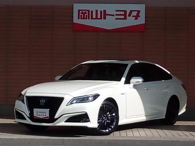 トヨタ S スポーツスタイル 元試乗車・メモリーナビ・Bluetooth接続機能・ムーンルーフ・スマートキー・LEDヘッドランプ・衝突被害軽減ブレーキ・AC100Vコンセント・シートヒーター付き