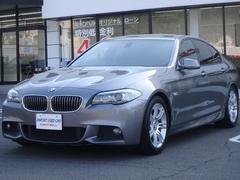 BMW528i Mスポーツ HDDナビ サンルーフ キセノン動画有