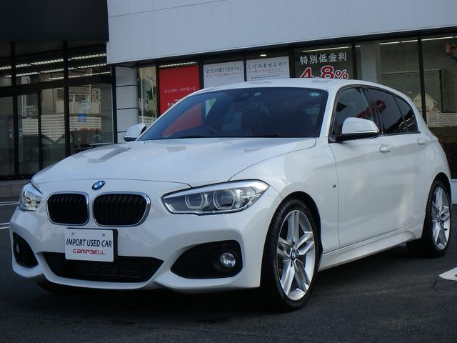 BMW 118i Mスポーツ 2年保証付 ナビ BT 純正18アルミ