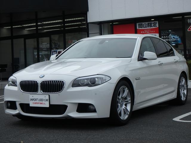 BMW 535i Mスポーツパッケージ 黒革 HDDナビ DTV キセノン F&Rパークディスタンス Bluetooth ミュージックサーバー コンフォートアクセス 純正18インチアルミホイール