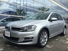 VW ゴルフTSIハイラインBMT 登録済未使用車 新車保証継承