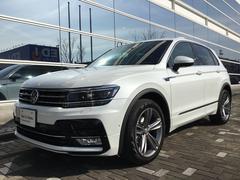 VW ティグアンTSI Rライン 認定中古車 当店元試乗車 保証付