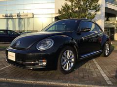VW ザ・ビートルデザインレザーPKG 認定中古車 黒レザーPセンサー 保証付