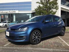 VW ゴルフTSIハイライン 認定中古車 ベージュレザー DCC 保証付