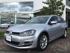 VW ゴルフヴァリアントTSIハイライン 認定中古車 ドライブレコーダー 保証付