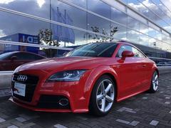 アウディ TTクーペ1.8T認定中古車 Sライン Audiエクスクルーシブ特別色