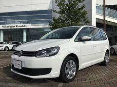 VW ゴルフトゥーランTSI コンフォートライン 認定中古車 VW純正ナビ 保証付