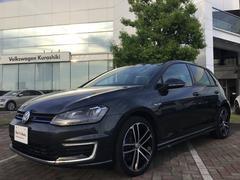 VW ゴルフGTE認定中古車 プラグインハイブリッド DCC 保証付