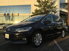 VW ゴルフトゥーラン新型TDIハイライン 認定中古車 運転支援 テクノロジーP付