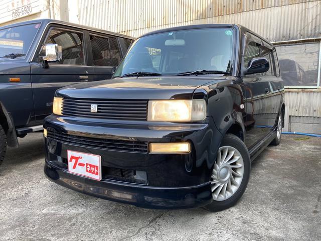 トヨタ bB Z Xバージョン キーレス AT CDオーディオ付 ブラック AC 修復歴無 5名乗り