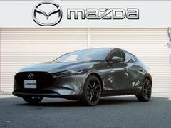 MAZDA3ファストバックX バーガンディセレクション赤革 サンルーフ 360モニタ