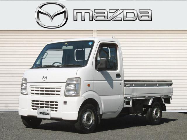 マツダ スクラムトラック KCスペシャル 5MT 荷台板張り 2WD エアコン 三方開