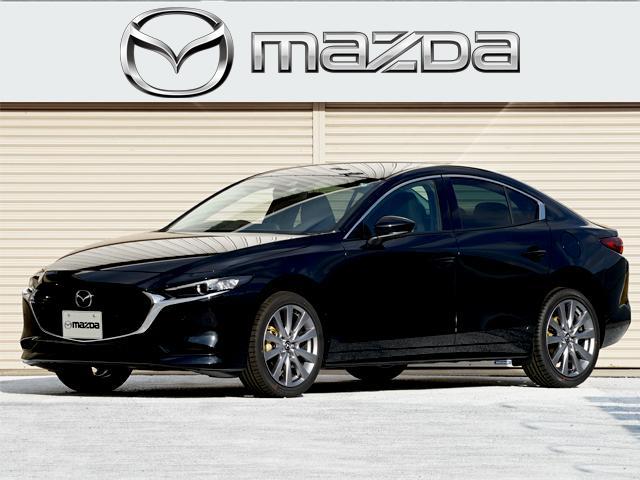 マツダ MAZDA3セダン 15S ツーリング 15S Touring デモカーアップ  360°ビューモニター ドライバーモニタリング セーフティPKG フロアマット 禁煙 ブレーキサポート レーダークルーズコントロール レーンキープアシスト