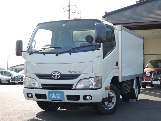 トヨタ トヨエース  冷蔵冷凍車 PS PW AC SDナビ ETC 冷蔵冷凍車-7℃〜35℃