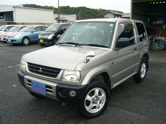三菱 X 4WD 純正CD キーレス 純正アルミ 背面タイヤ