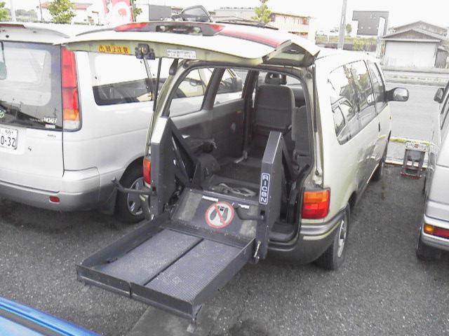 日産 福祉車両アンシャンテ 電動リフト 車いす輸送車 チェアキャブ