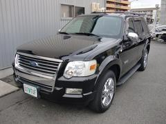 フォード エクスプローラーリミテッド 黒革 サンルーフ 限定車 HDDナビ 地デジ