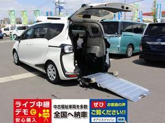 シエンタ車いす仕様車 タイプ2 トヨタセーフティセンスC ナビテレビ