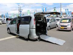 セレナ車いすスロープ車 車いす2名 電動ステップ付 ナビ 7人乗り