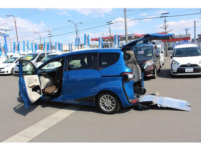 トヨタ G 車いすスロープ車 回転チルトシート 衝突被害軽減ブレーキ