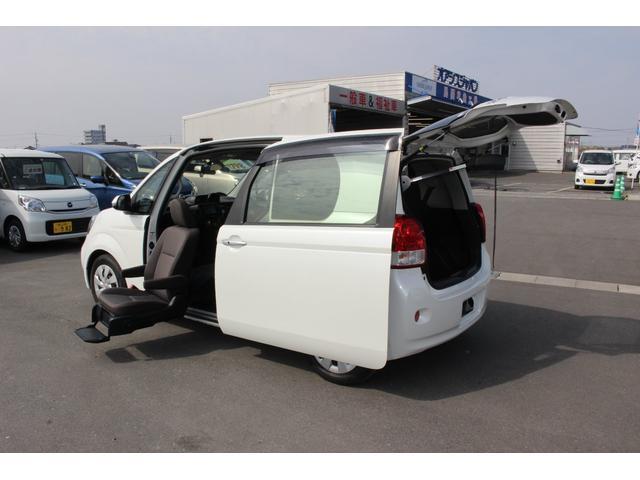 トヨタ ポルテ 助手席リフトアップシート車 電動式車いす収納装置...