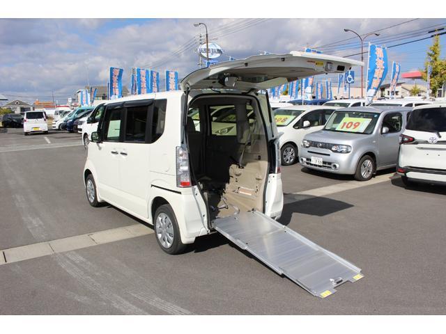 ホンダ 車いすスロープ車 4WD ドライブレコーダー ナビテレビ