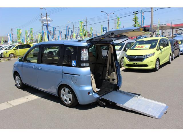 トヨタ X 車いすスロープ車 車いす1台 6人乗 電動固定装置 ナビ
