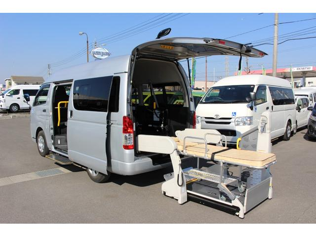 トヨタ 車いすリフト車 ストレッチャー付き 助手席側エアバッグ付