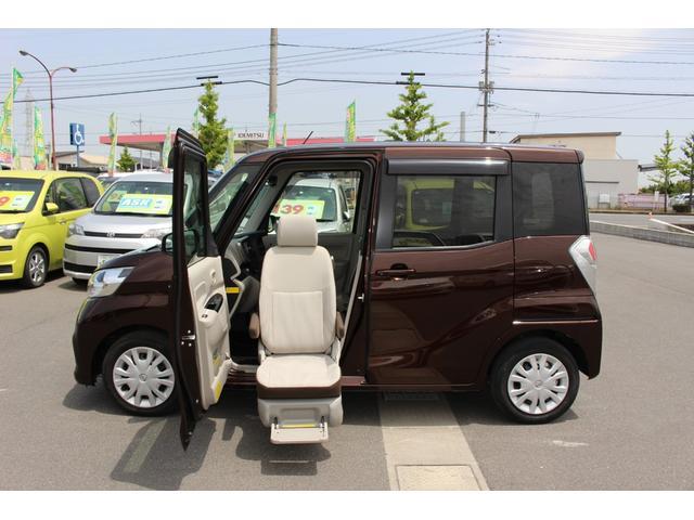 日産 X  助手席スライドアップシート車