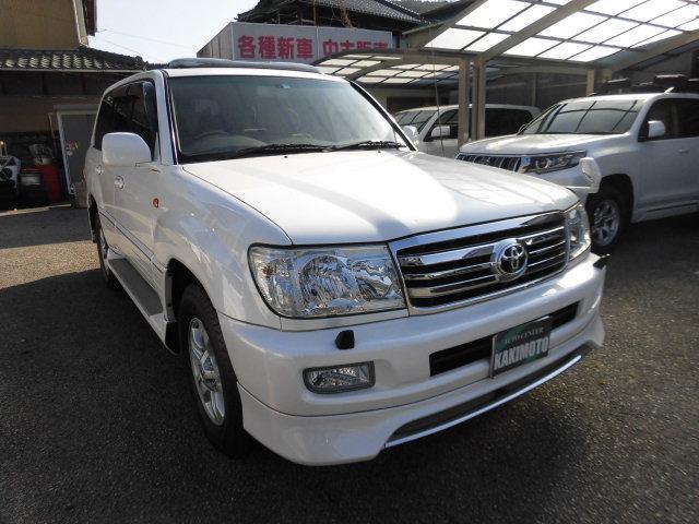 「トヨタ」「ランドクルーザー100」「SUV・クロカン」「岡山県」の中古車