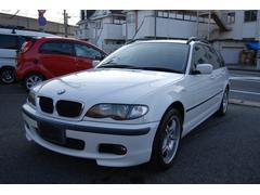 BMW318iツーリング Mスポーツエアロ SDナビ